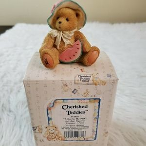 """CHERISHED TEDDIES 1993 """"A DAY IN THE PARK"""""""